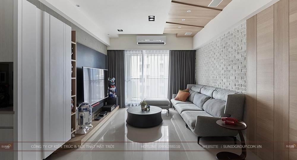 Thiết kế thi công nội thất chung cư theo phong cách tối giản – Minimalist