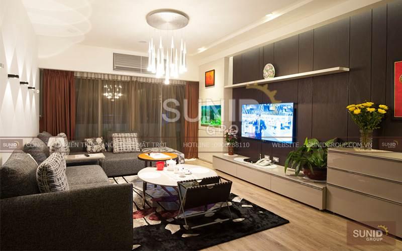 Thiết kế nội thất chung cư tại phố Huỳnh Thúc Kháng A. Dũng
