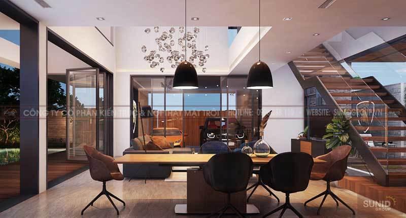 Thiết kế nội thất biệt thự Hà Đông A Quyền