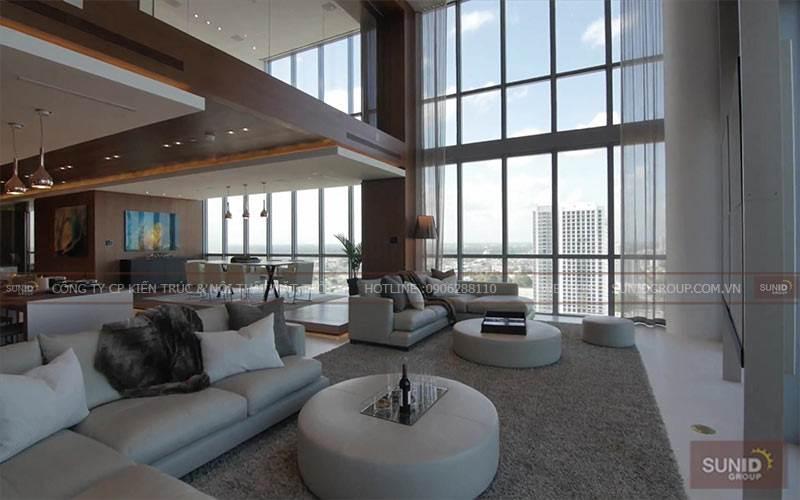 Thiết kế nội thất chung cư tại Sky City Towers 88 Láng Hạ  C.Thanh