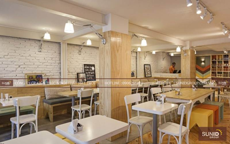 Thiết kế nội thất cafe đẹp Padarie tại Place Hotel