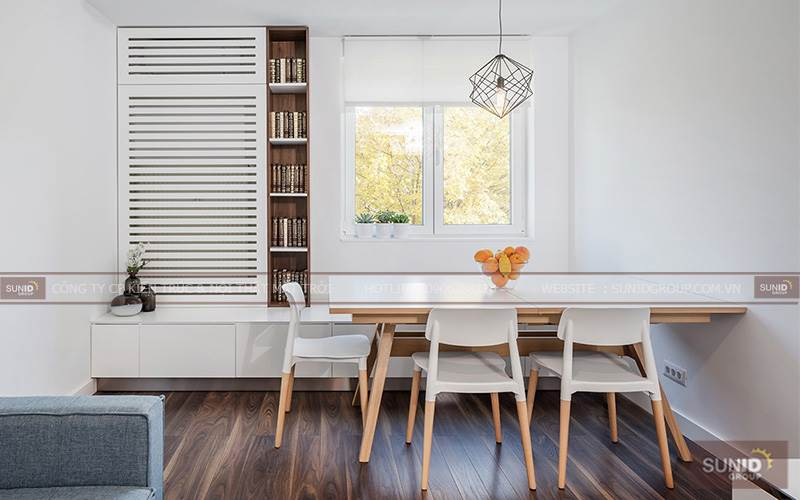 Thiết kế nội thất chung cư Tràng An Complex A. Thiên