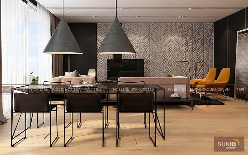Thiết kế nội thất chung cư tại Golden Westlake Tây Hồ C.Hồng