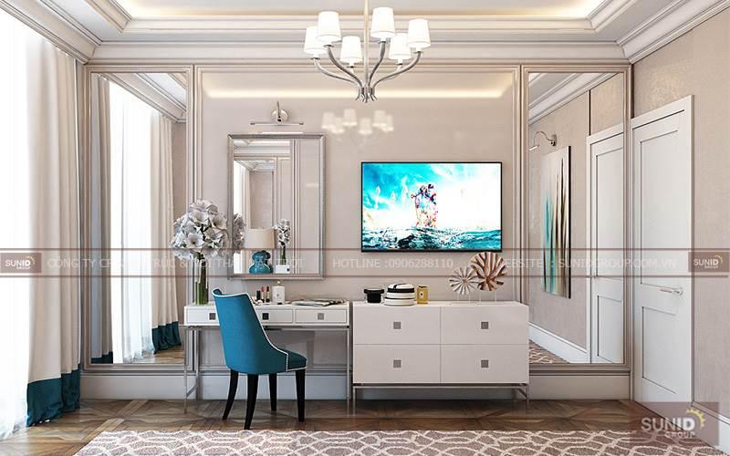 Thiết kế nội thất chung cư tại Gemek gần Thiên Đường Bảo sơn C. Nga