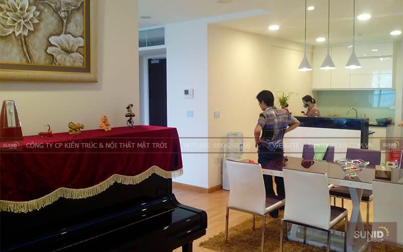Thiết kế nội thất chung cư tại Mandarin C.Thủy
