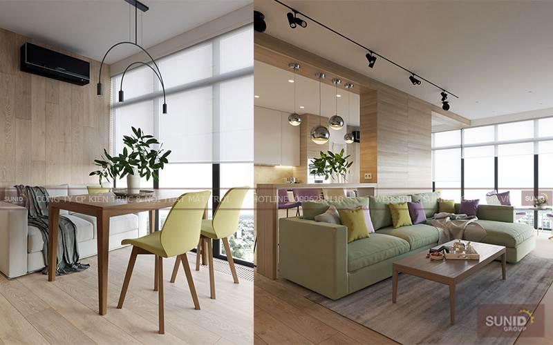 Thiết kế nội thất chung cư tại Ciputra Tây Hồ A.Khắc