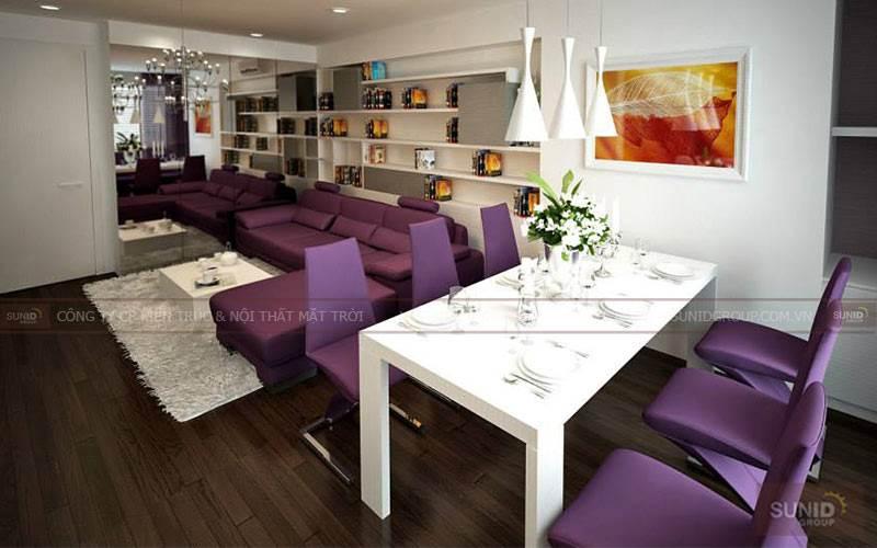 Thiết kế nội thất chung cư Vinhomes Nguyễn Chí Thanh A.Thanh