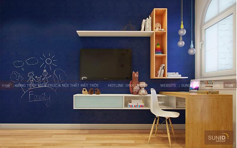 Thiết kế nội thất chung cư tại Vincity Gia Lâm C. Thu