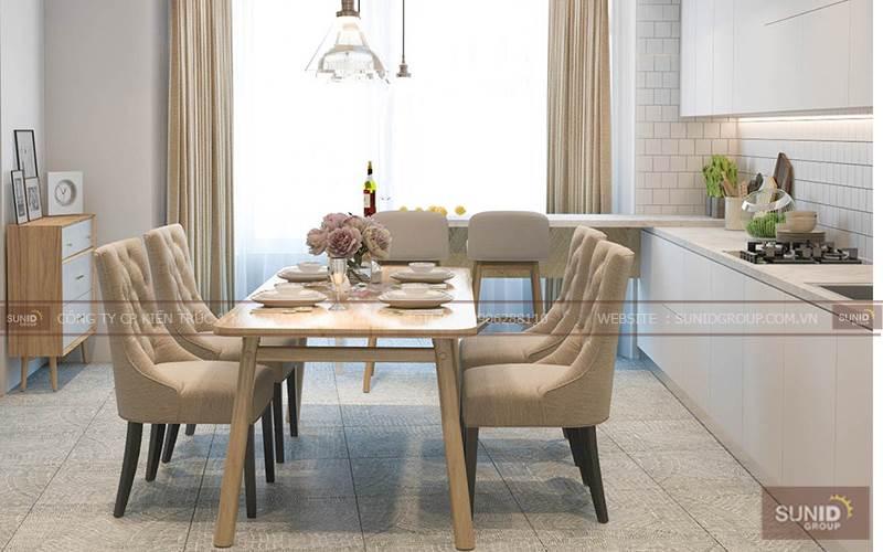 Thiết kế nội thất chung cư tại Goldmark City C.Mai