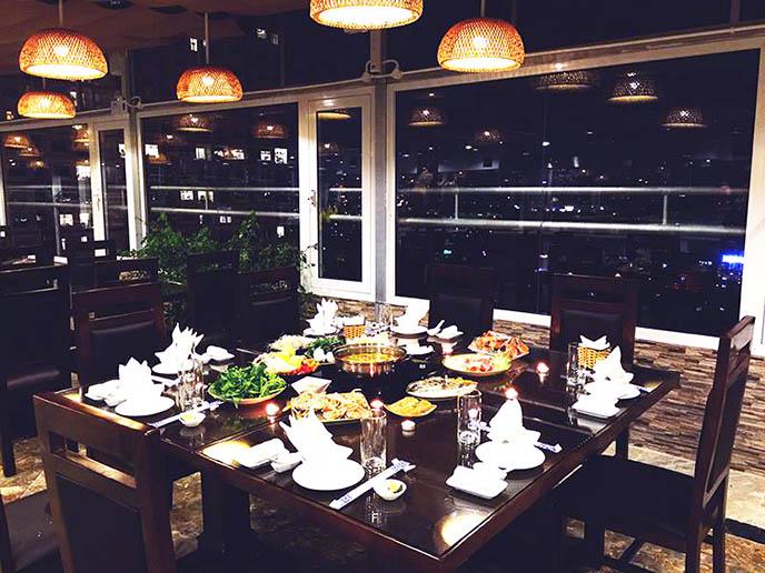 Thiết kế nội thất nhà hàng Buffet Sen Việt
