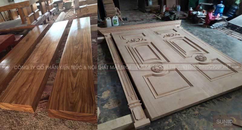 Sản xuất nội thất bằng gỗ óc cho tuyệt đẹp