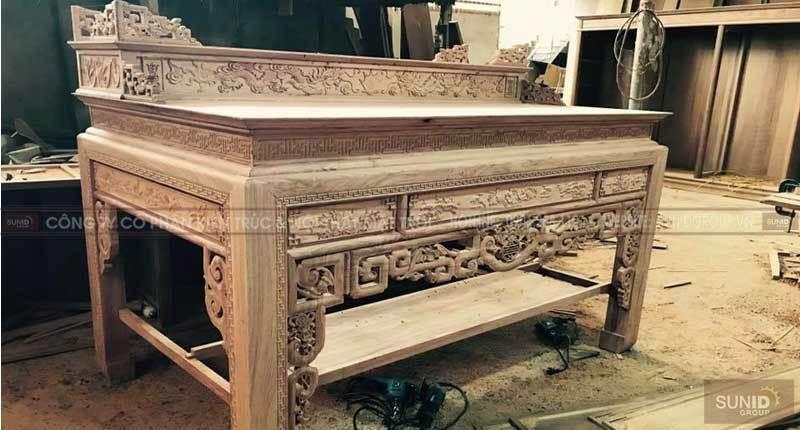 Sản xuất nội thất bằng gỗ tự nhiên