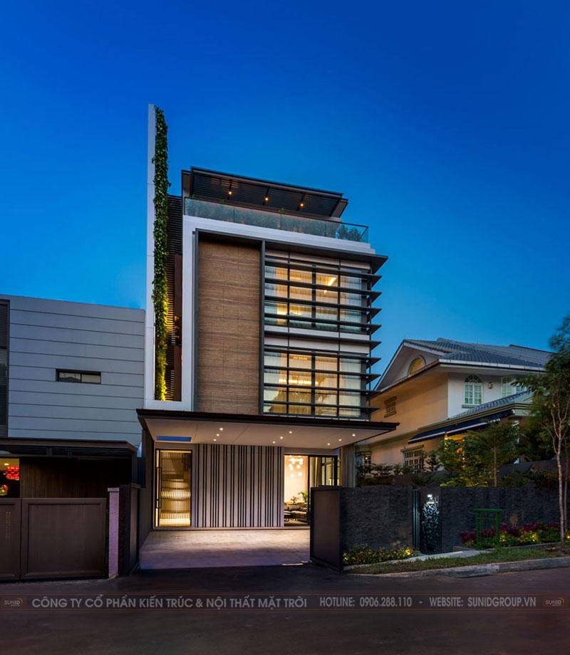 Thiết kế kiến trúc và nội thất biệt thự Gia Lâm, Hà Nội