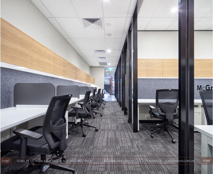 Thiết kế nội thất văn phòng tại Quảng Ninh