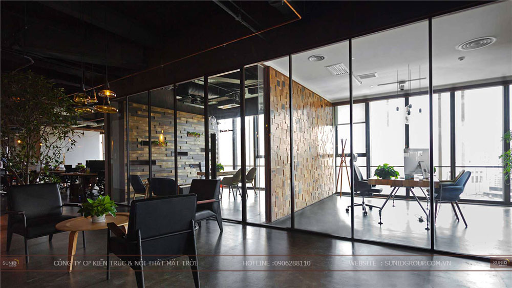 Thiết kế nội thất văn phòng tại Lạng Sơn