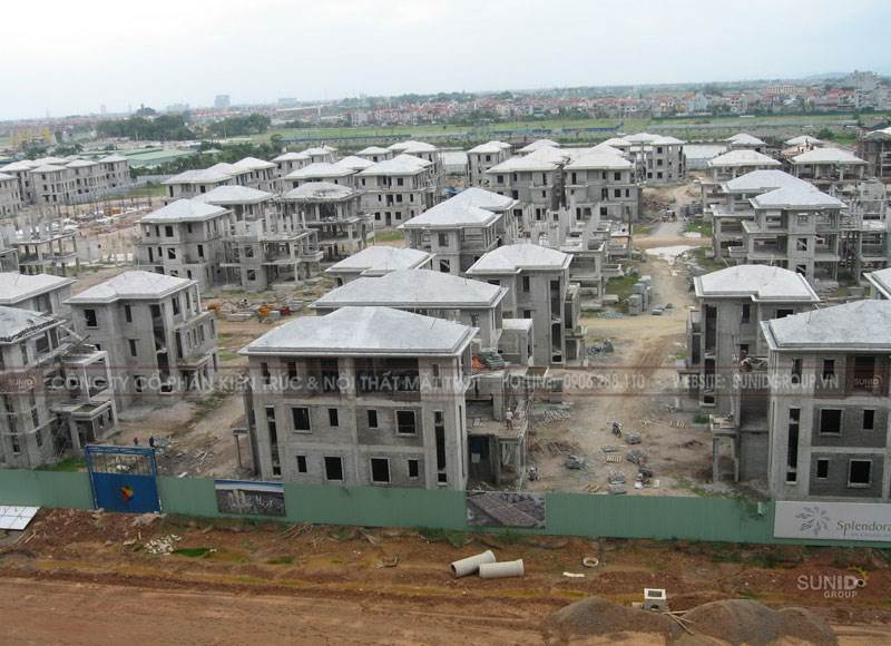 Thi công xây dựng áp dụng gạch siêu nhẹ trong các công trình