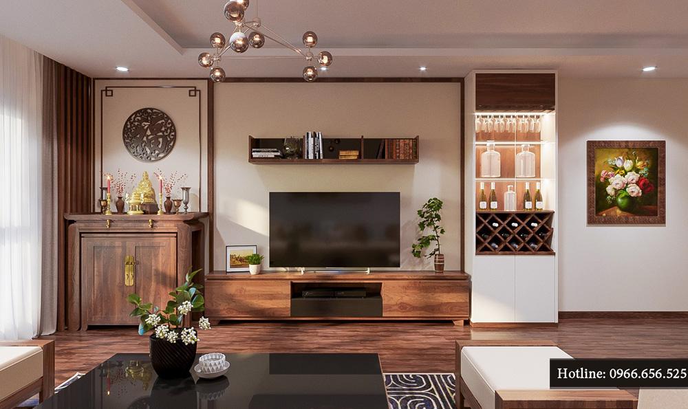 thiết kế nội thất chung cư ct8 mỹ đình 10