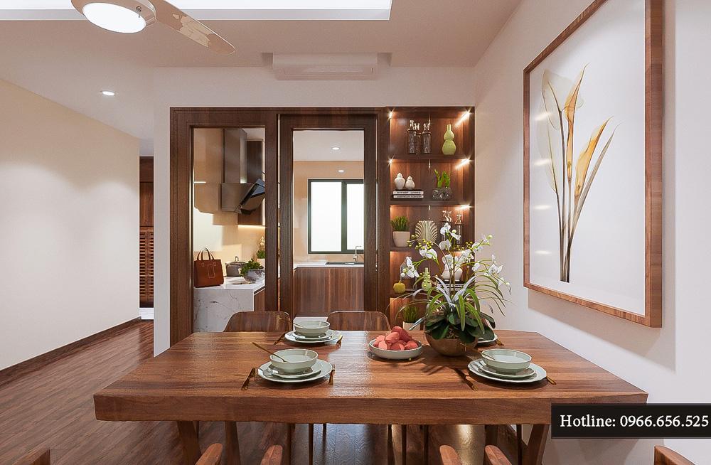 thiết kế nội thất chung cư ct8 mỹ đình 11