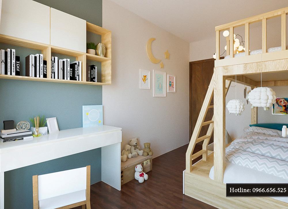thiết kế nội thất chung cư ct8 mỹ đình 3