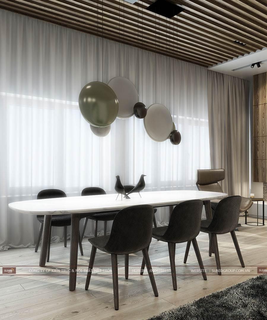 Thiết kế nội thất chung cư Vinhomes Trần Duy Hưng A. Thiết