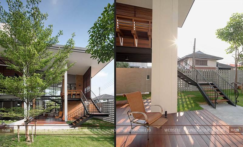 Thiết kế kiến trúc biệt thự hiện đại tại Vinpearl Nghệ An A. Hòa