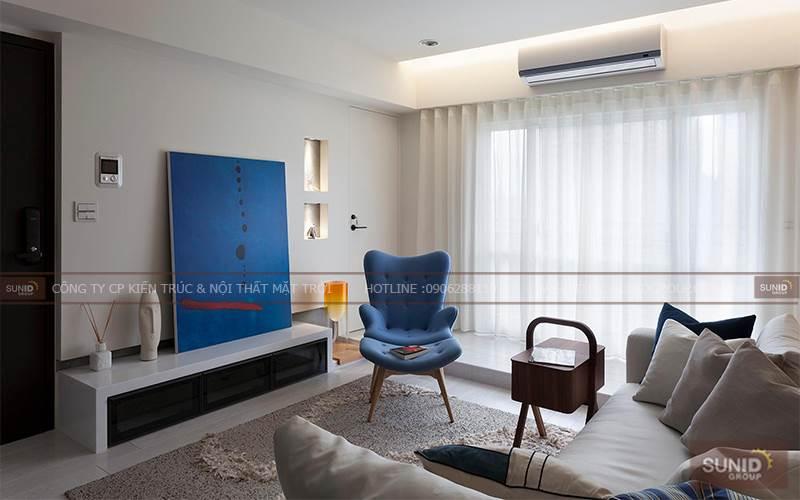 Thi công nội thất chung cư Packexim 1 Phú Thượng A. Hoàng