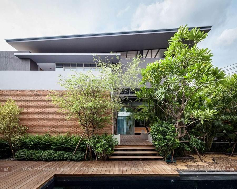 Thiết kế kiến trúc biệt thự hiện đại lào Cai