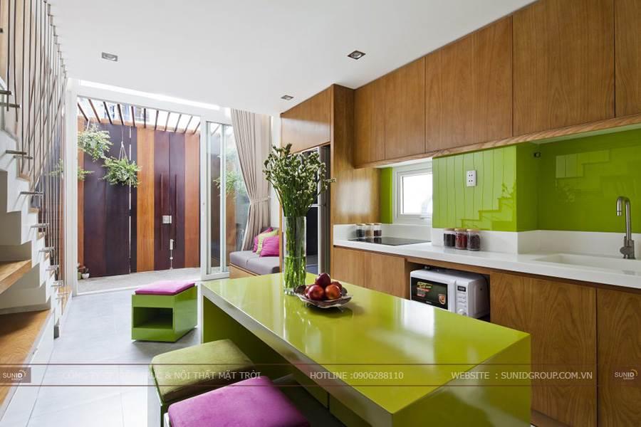 Thiết kế nội thất nhà phố Tây Sơn, Đống Đa C. Trang