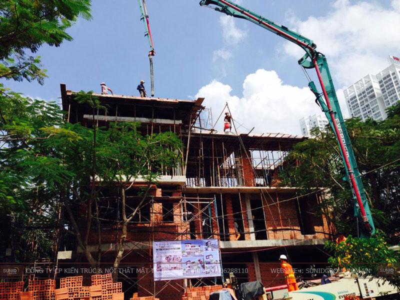 Thi công xây dựng