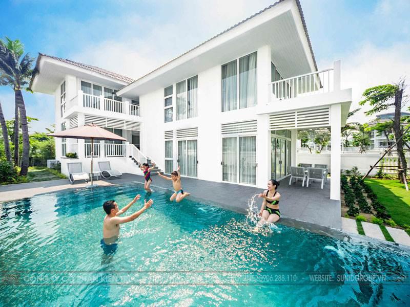 Thiết kế kiến trúc biệt thự nghỉ dưỡng hiện đại