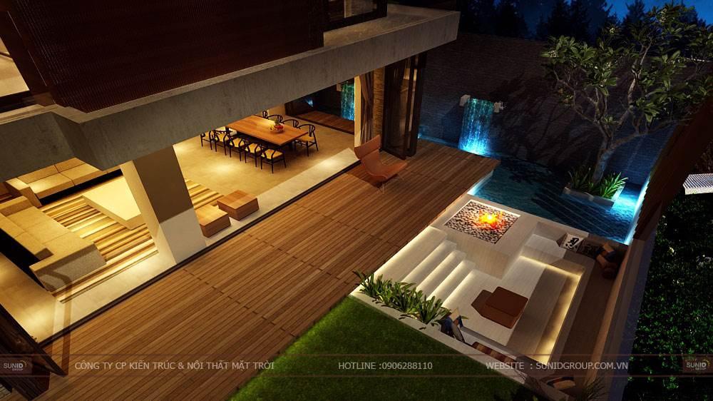 Thiết kế biệt thự Tam Đảo