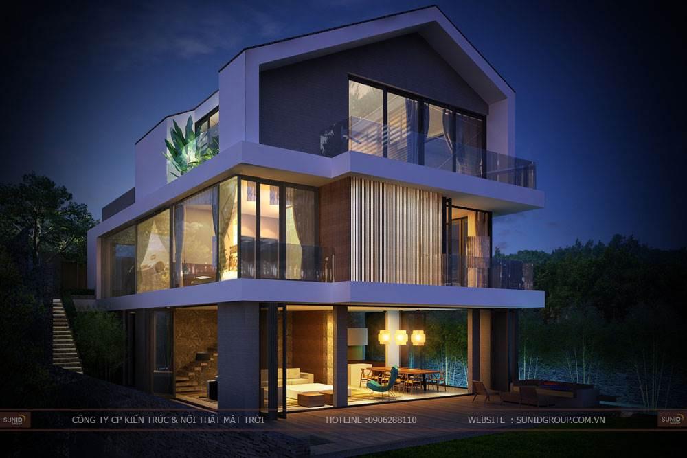 Thiết kế biệt thự Tam Đảo anh Nguyễn Gia Hưng