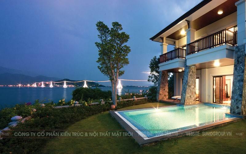 Thiết kế kiến trúc và nội thất biệt thự đẹp và đẳng cấp tại Quảng Ninh