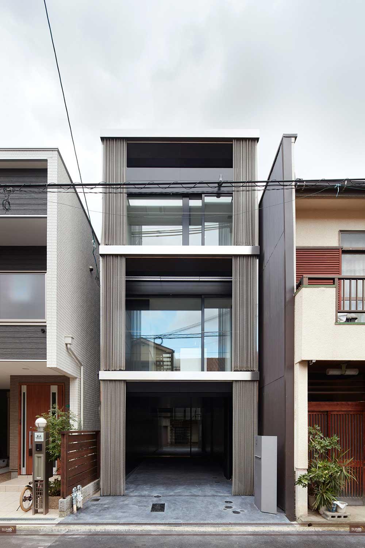 Thiết kế nhà phố 3 tầng với diện tích 5x20m
