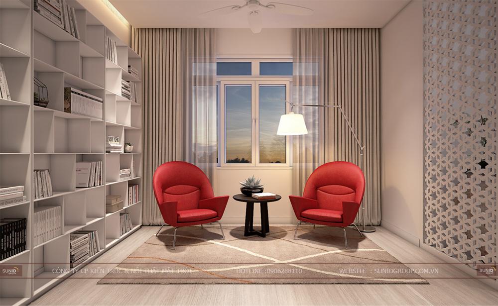 Thiết kế nội thất biêt thự STARLAKE Tây Hồ Tây