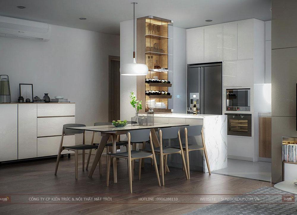 Thiết kế nội thất căn hộ chung cư Imperial Plaza