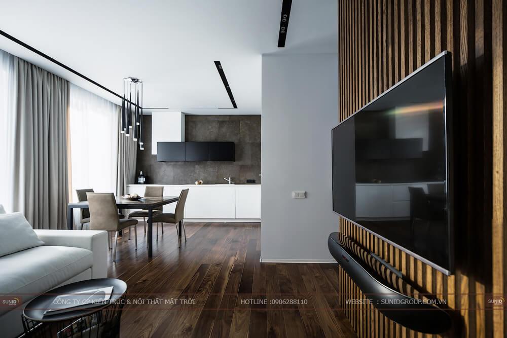 Thiết kế nội thất chung cư FLC Star Tower