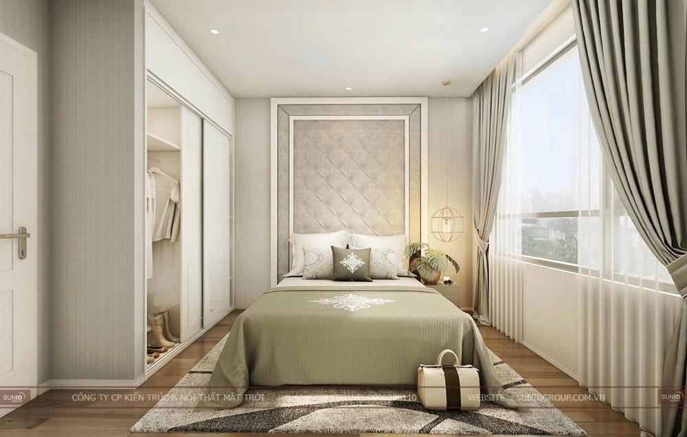 Thiết kế nội thất chung cư VINHOMES Trần Duy Hưng