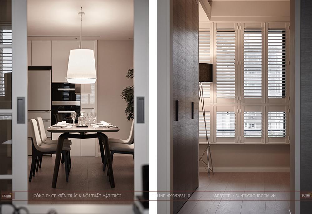 Thiết kế thi công nội thất Golden Westlake quận Tây Hồ