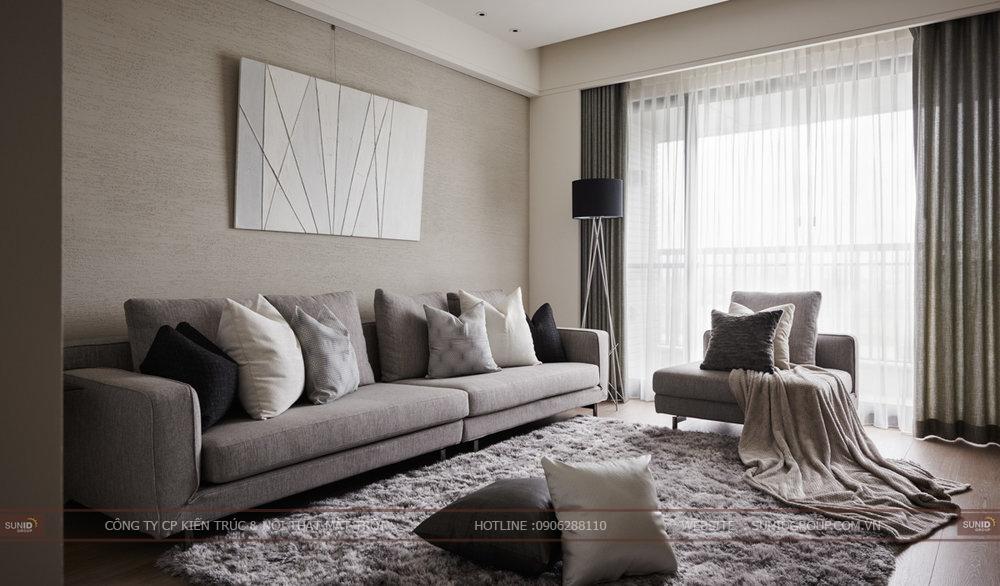 Thiết kế nội thất chung cư VINACONEX6