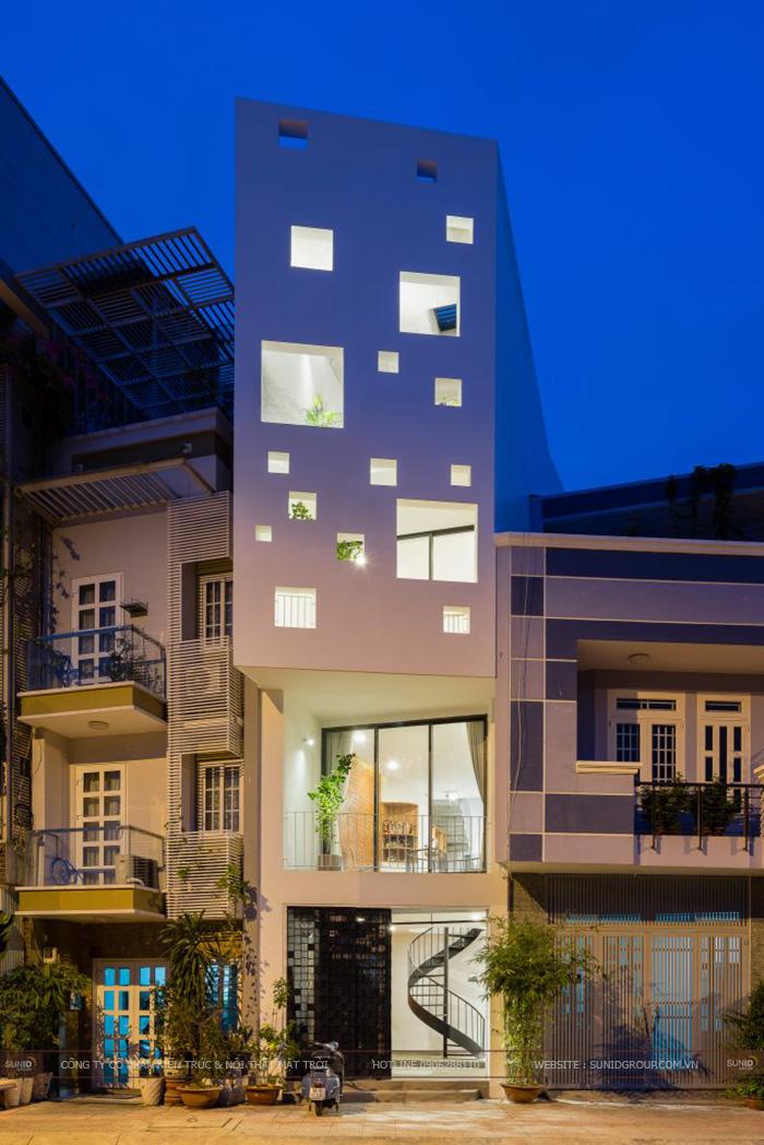 Thiết kế nhà phố tại quận Hoàng Mai 3,8 X 9,9m anh Toàn