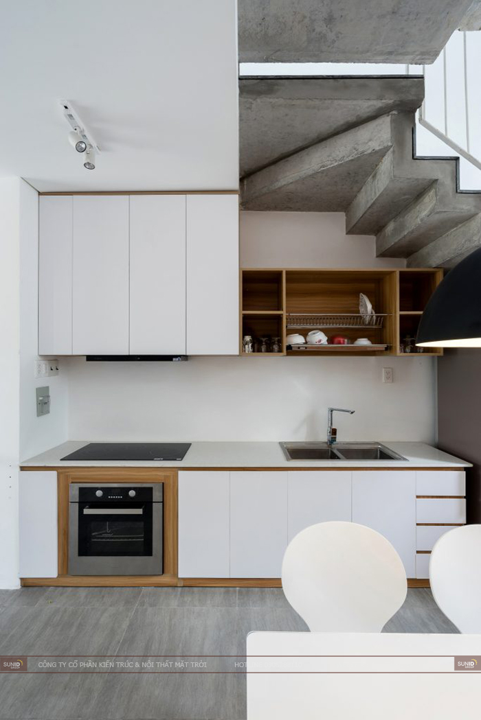 Thiết kế nội thất nhà phố