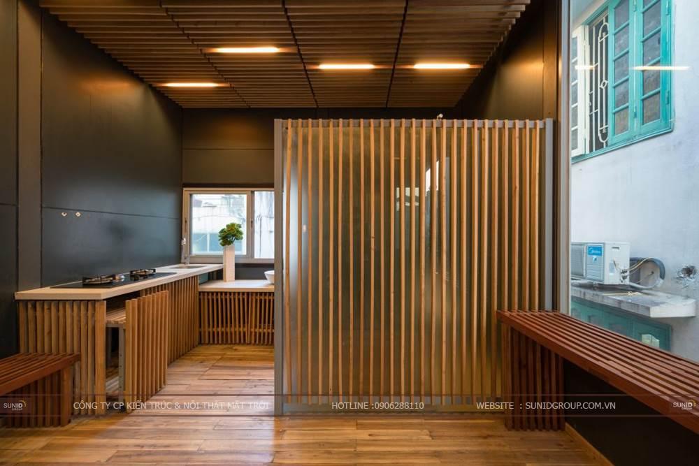 Thiết kế cải tạo kiến trúc nhà khung thép