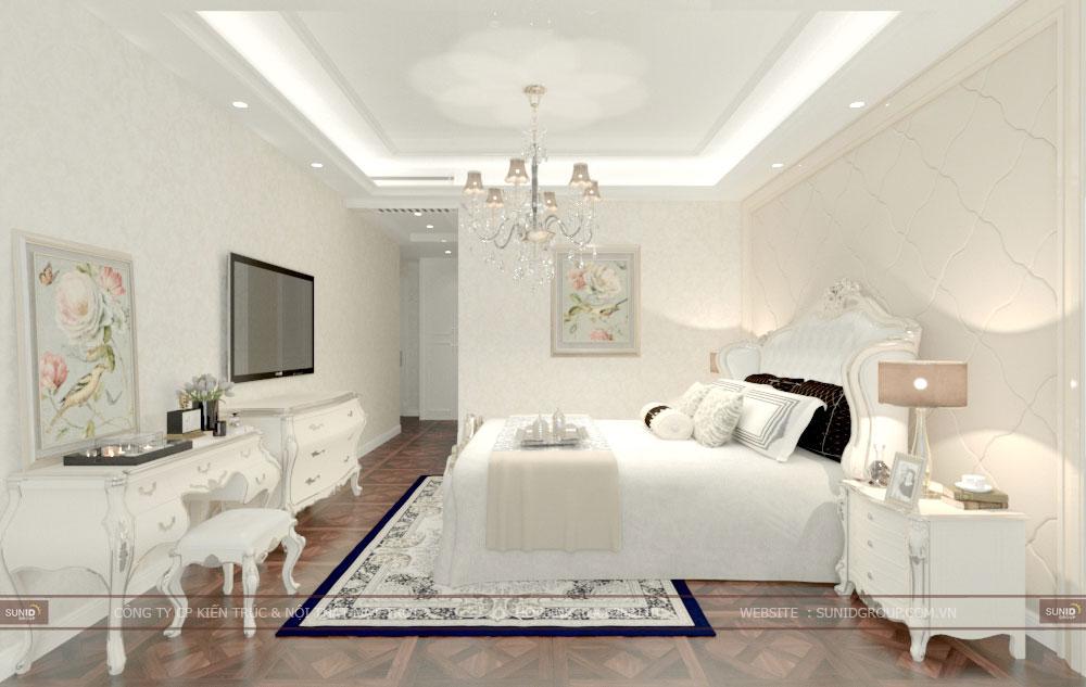 Thiết kế nội thất biệt thự liền kề Sunshine City Tây Hồ