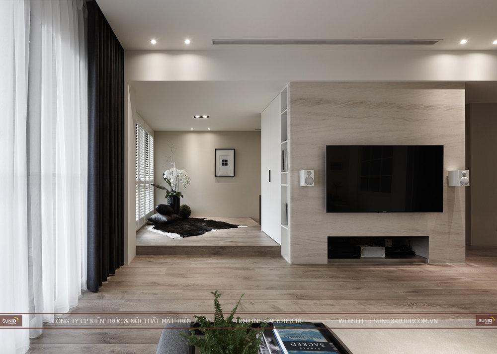 Thiết kế thi công nội thất chung cư Hamilton Complex quận Thanh Xuân