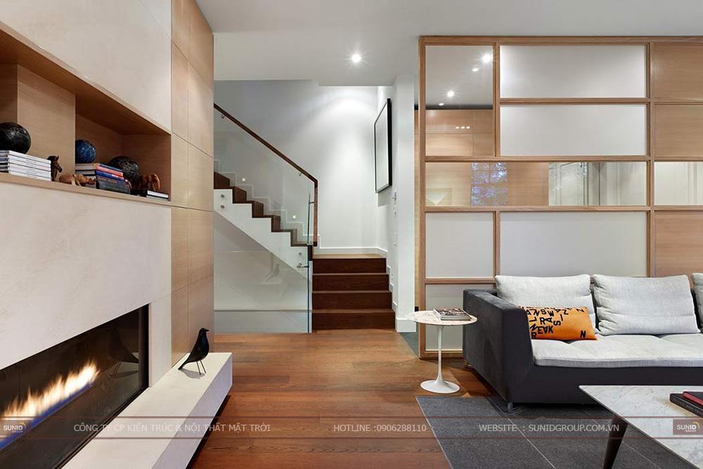 Thiết kế thi công nội thất biệt thự quận Cầu Giấy