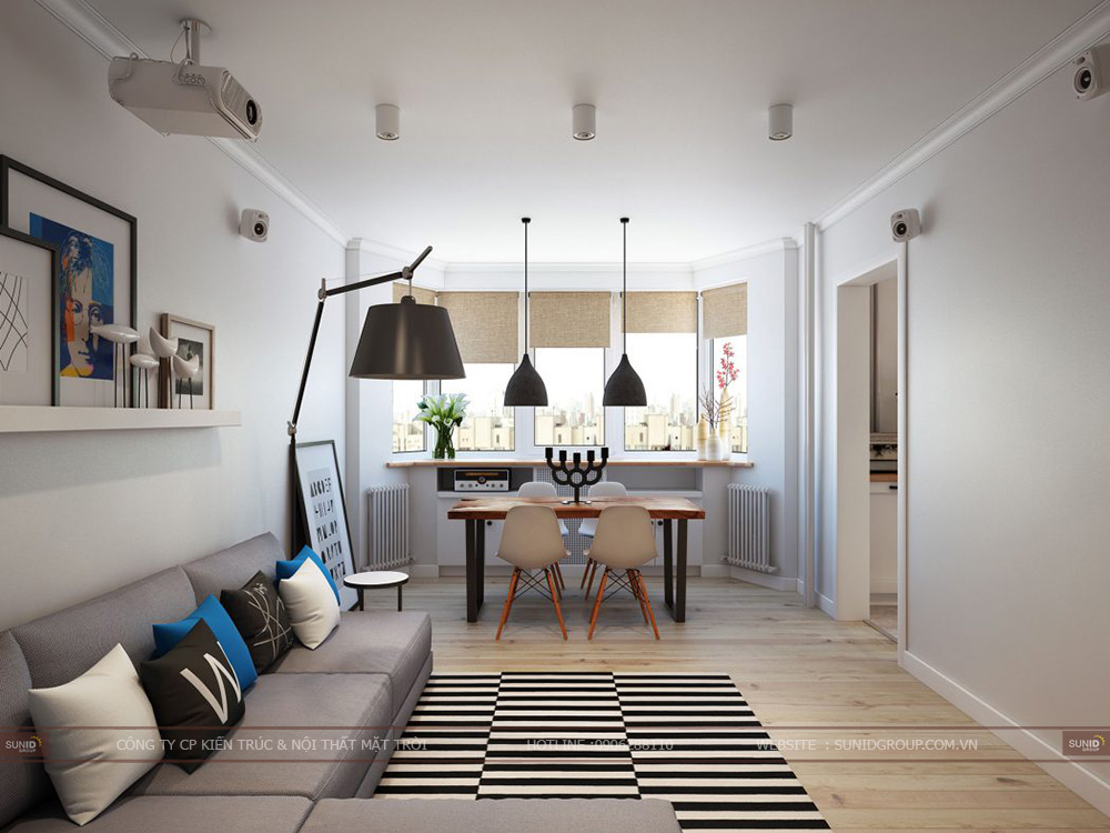 Thiết kế nội thất nhà phố SING GARDEN – Bắc Ninh
