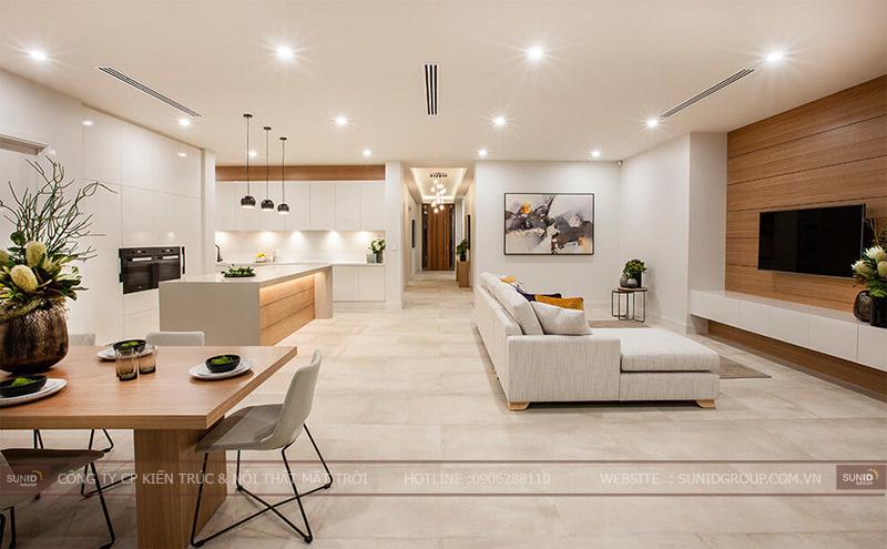 Thiết kế thi công nội thất biệt thự quận Hà Đông