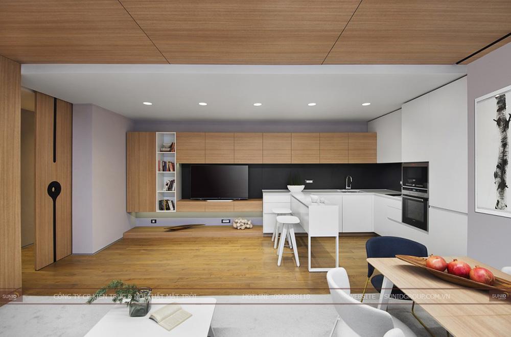 Thiết kế nội thất nhà đẹp tại Bắc Ninh