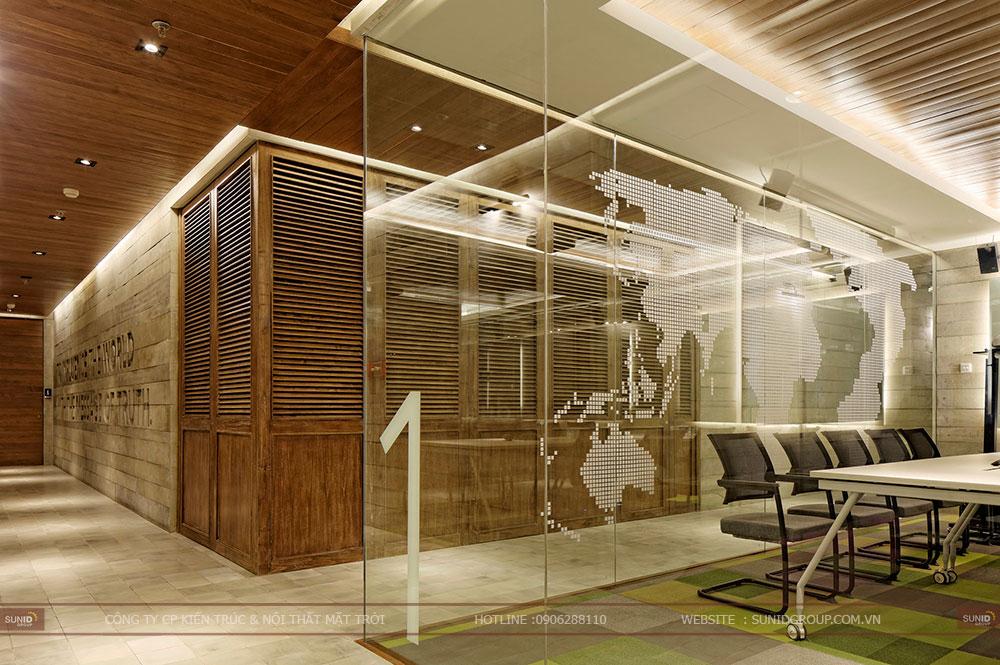 Thiết kế nội thất văn phòng giúp phát triển óc sáng tạo tối đa
